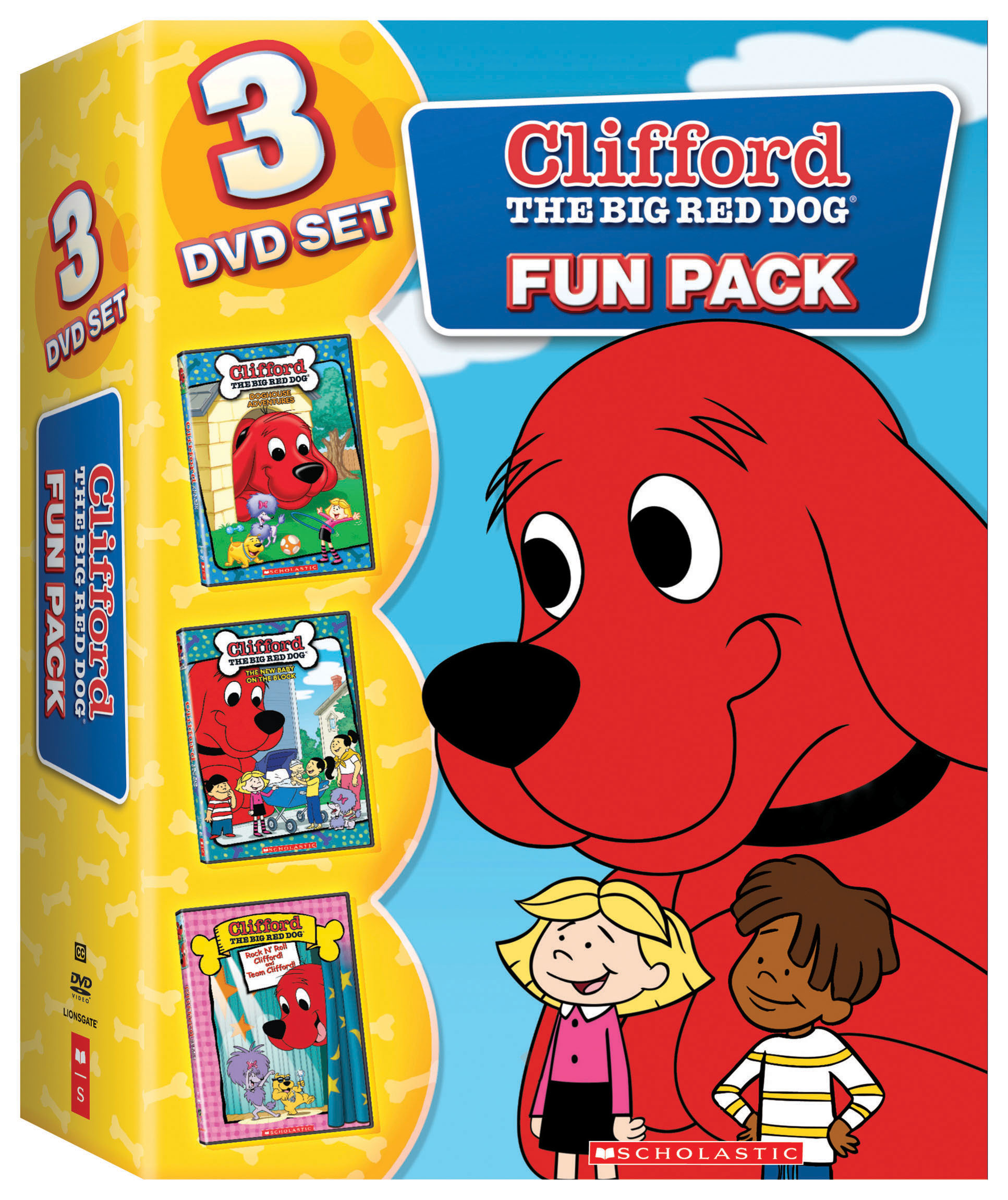 Clifford The Big Red Dog Dvd Set